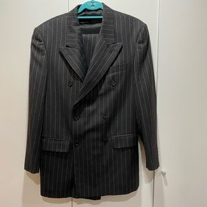 Italian Pinstripe Suit